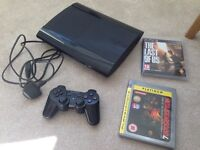 PlayStation 3 + 1 controller + 2 games
