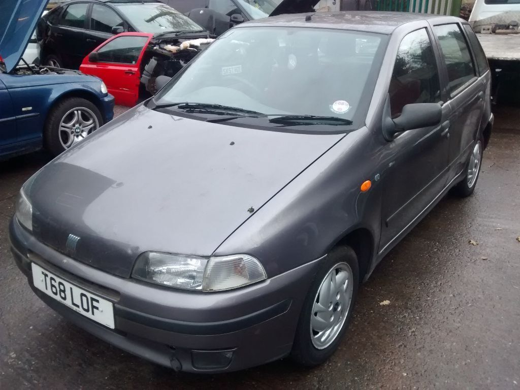 1999 fiat punto mk1 1 2 60 sx grey 5dr breaking for spares in shirley west midlands gumtree. Black Bedroom Furniture Sets. Home Design Ideas