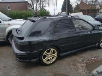 Subaru wrx turbo.