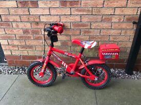 Kids Fire Engine Bike - very good condition