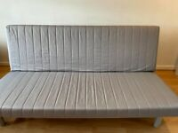 Large Double sofa bed – Ikea Beddinge- Grey blue - Great condition