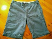 Mens blue Chino shorts size 32 - hardly worn