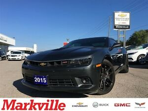 2015 Chevrolet Camaro SS - - RALLY SPORT - ONE OWNER TRADE