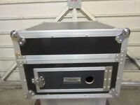 Flight Case, Heavy Duty, Amp Mixer. Citronic. Used for high output power amp and 16 channel mixer.