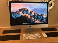 iMac late 2014( i5 3.5)( 8gb ram)(1.1tb fusion drive)(2gb amd ddr5 graphic)