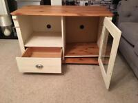 TV cabinet. Needs work, could be lovely.