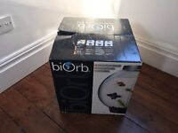 BiOrb with Light 30L Silver Coldwater Aquarium Starter Kit (WITH BOX GREAT CONDITION)