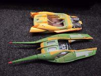 Star Wars Attack of the Clones speeders 2002 - Anakin Skywalker & ZAM WESELL'S - ��8 each