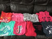 Abercrombie and Hilfiger - kids clothes