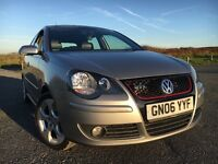 Volkswagen Polo GTi 1.8T, Full Leather, Excellent Condition, Low Mileage