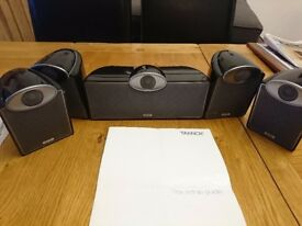 5.1 SFX Tannoy Surround Sound System With AV amp