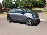 Smart ForFour Prime, 2015 with low mileage