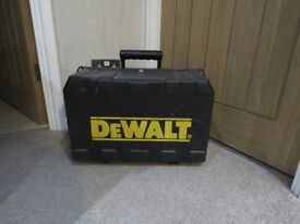 Large DeWalt tool storage box