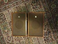 Beautiful Retro Sanyo Speakers