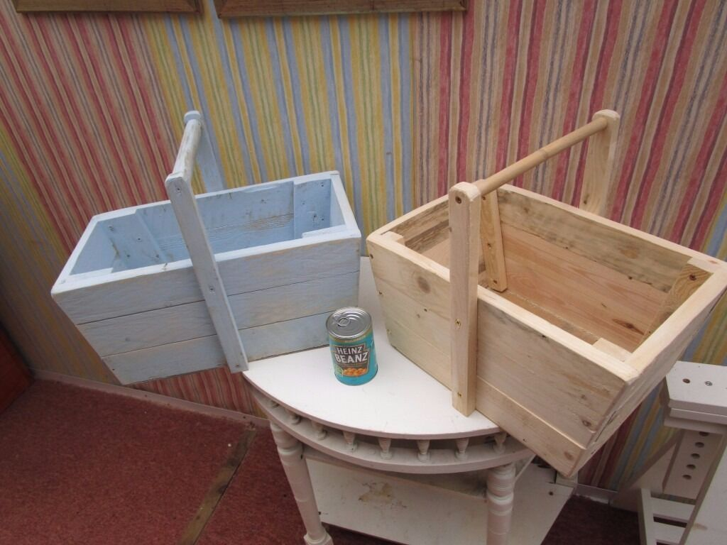 Uses Of Kitchen Garden New Hand Made Reclaimed Solid Wood Trugs Many Useskitchen Garden