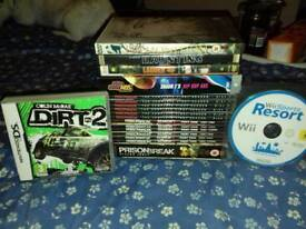 Dvds and games for sale