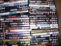 More than 100 DVDs for sale