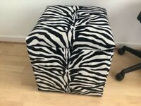 Storage seat/box Animal print