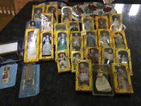 Traditional Del Prado Dolls - 25 as a job lot.