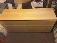 Chest of 6 drawers – MALM IKEA