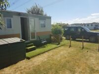 static abi pheonix 32ftx12ft caravan for sale sited on holliday park over looking river soar