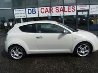 2010 59 ALFA ROMEO MITO 1.4 VELOCE 16V 3D 95 BHP***GUARANTEED FINANCE***PART EX WELCOME***