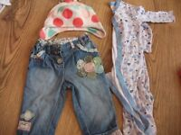 Small Bundle Of Girls Clothes 6-9 Months