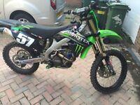 KXF 250 2012 motorcross not CR , YZ , KTM , RM