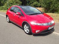 Honda Civic ES I-Ctdi 5dr (imola red) 2008