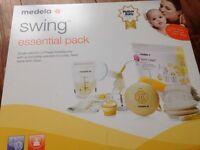 Medela Swing Electric Breast Pump Starter Kit
