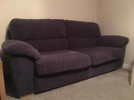 3 + 2 Seater settee Sofas very comfy Novalife fabric