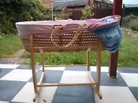 Moses basket with mattress for sales