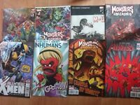 Marvel Monsters Unleashed comics incl #1 and variants