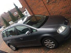 VW Touran, 7 Seats, Grey, FSH