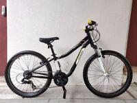 "(3135) 24"" Aluminium SPECIALIZED HOTROCK JUNIOR MOUNTAIN BIKE BICYCLE Age: 8-10, 127-142 cm"