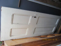 FOUR PANEL DOOR &15 GLASS PANEL DOOR