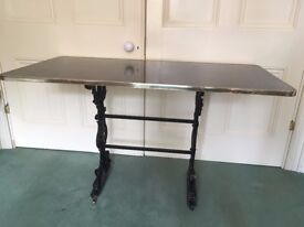 Beautiful Cast Iron dining table