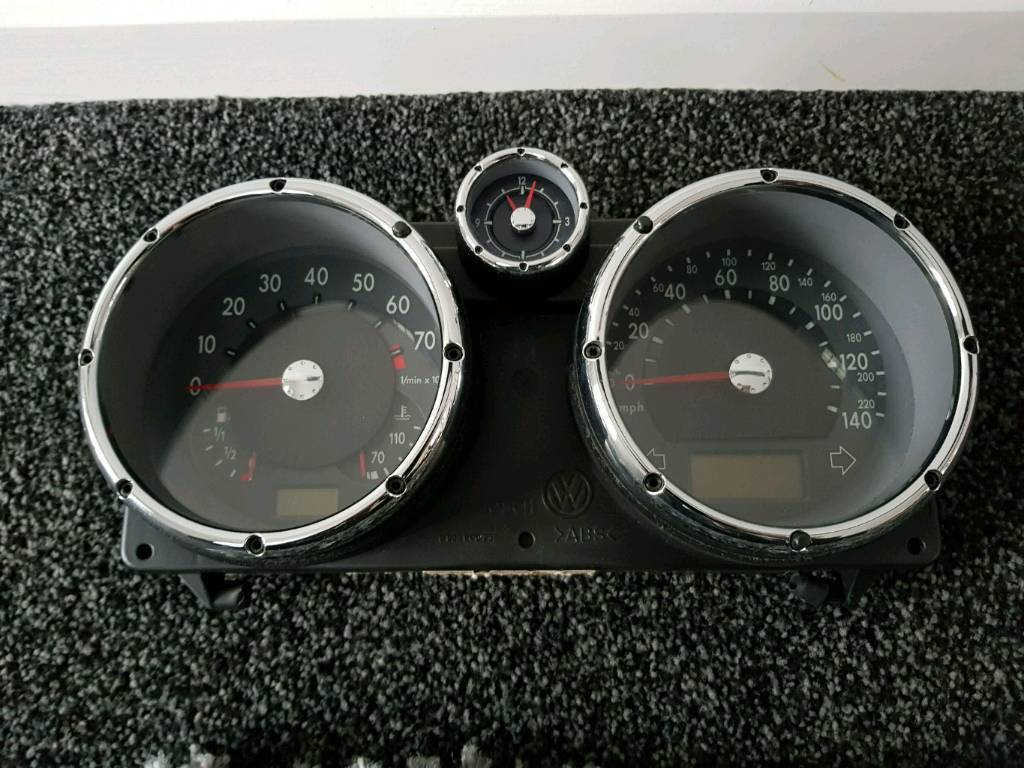 Vw polo 6n2 gti speedo dials and gear knob