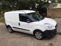 FIAT DOBLO.2012.NEW MOT.58K MILES.1 COMPANY OWNED.SPARE KEY.FULL SERVICE PRINT OUT