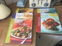 5 Eat well live well, cook books