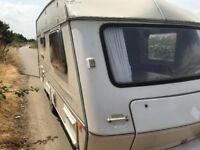 Abi Jubilee 2 Birth Touring Caravan VGC throughout, Hot & Cold Water