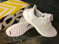 Adidas Ultra boost 3.0 All white size 10