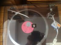 Q7 JVC record turntable. Immaculate