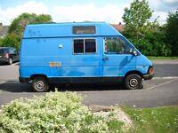 Renault Trafic T1300 campervan 1988