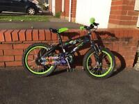 Ben 10 mountain bike
