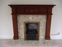 Fire & Surround with Marbel