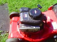 briggs&stratton petrol lawnmower