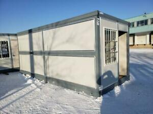 NEW 20 FT FOLDING INSULATED OFFICE CONTAINER 20FOC Winnipeg Manitoba Preview