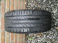 CONTINENTAL TYRE 225 / 35 R18 87W 6M LEFT £ 5 NO TEXTS