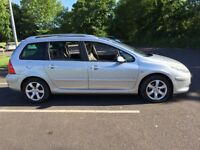 Peugeot 307 SW SE HDI 110. 1 Former lady keeper. Low Milage. FSH